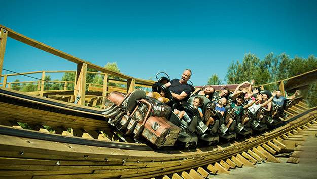 photo attraction timber à walibi rhône-alpes